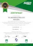 Zertifikat Klimaneutrales Heizöl